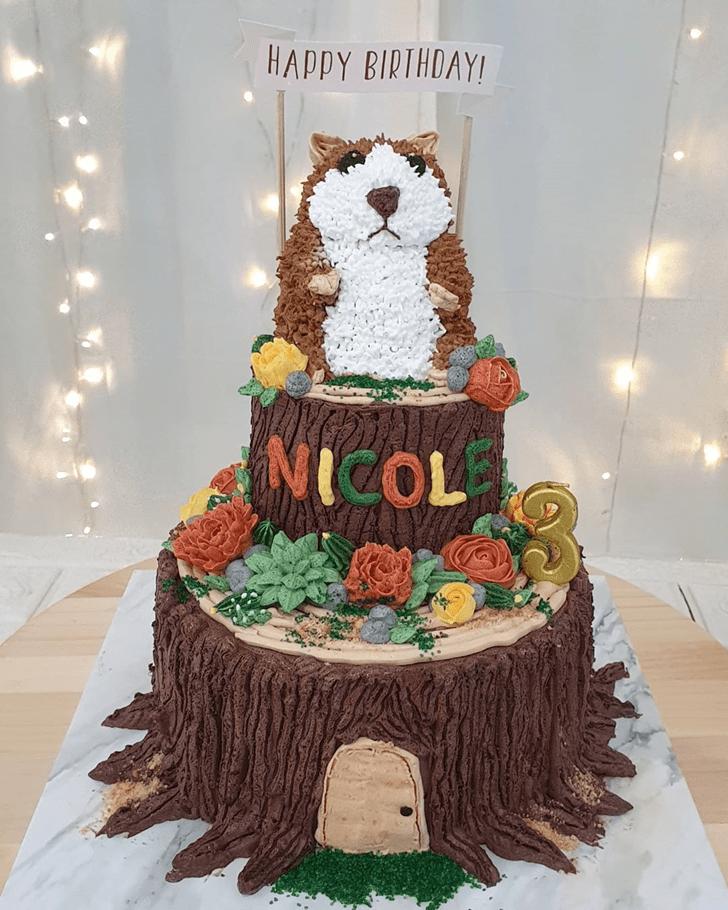 Resplendent Hamster Cake
