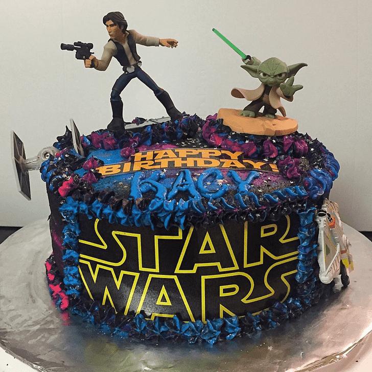 Beauteous Han Solo Cake