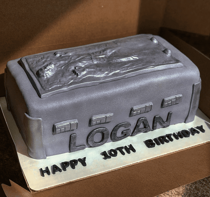 Captivating Han Solo Cake