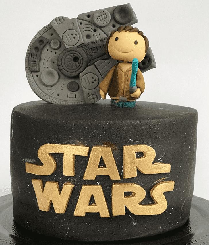 Charming Han Solo Cake