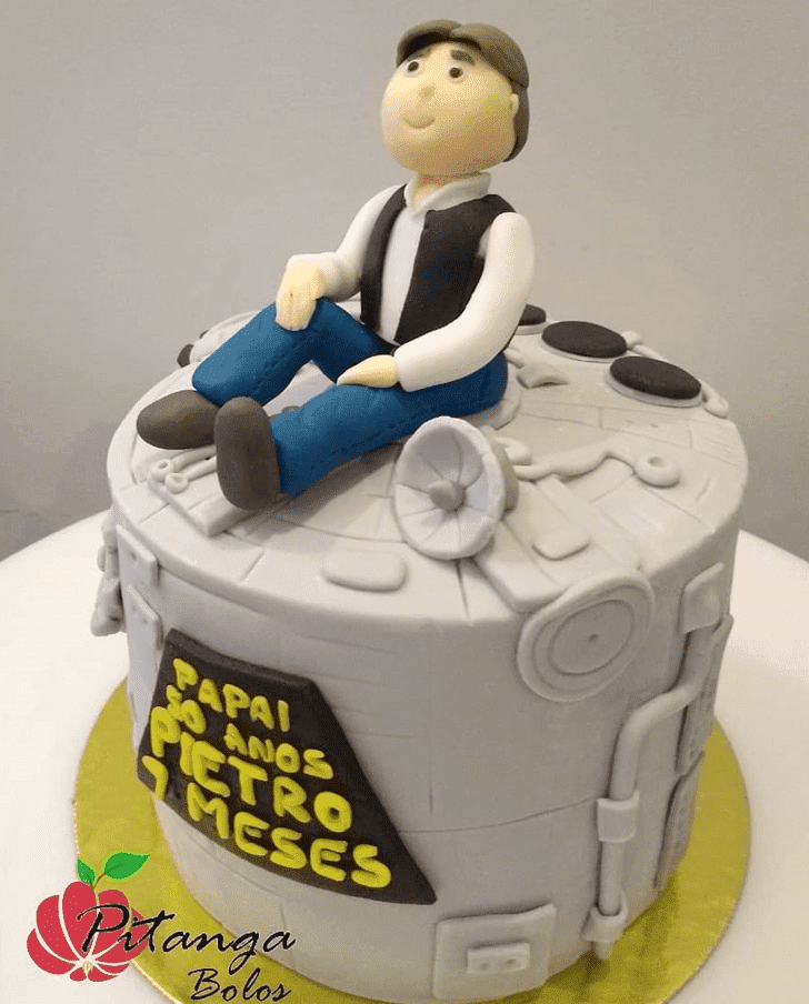 Comely Han Solo Cake