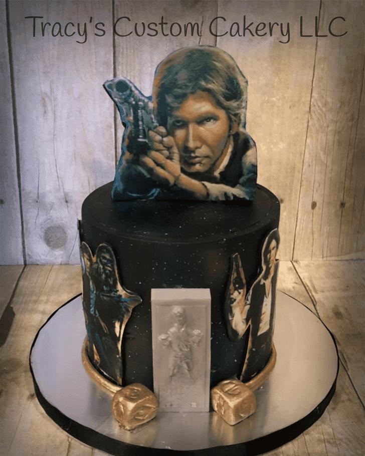 Dazzling Han Solo Cake