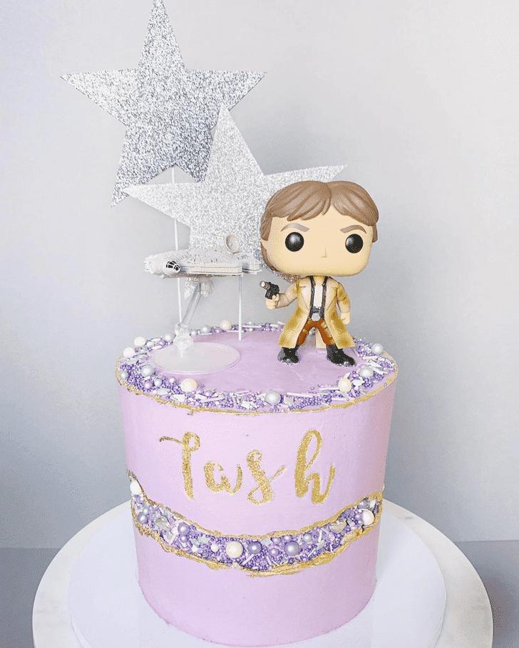 Delicate Han Solo Cake
