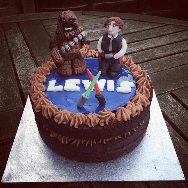 Enthralling Han Solo Cake