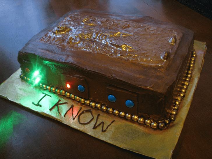Enticing Han Solo Cake