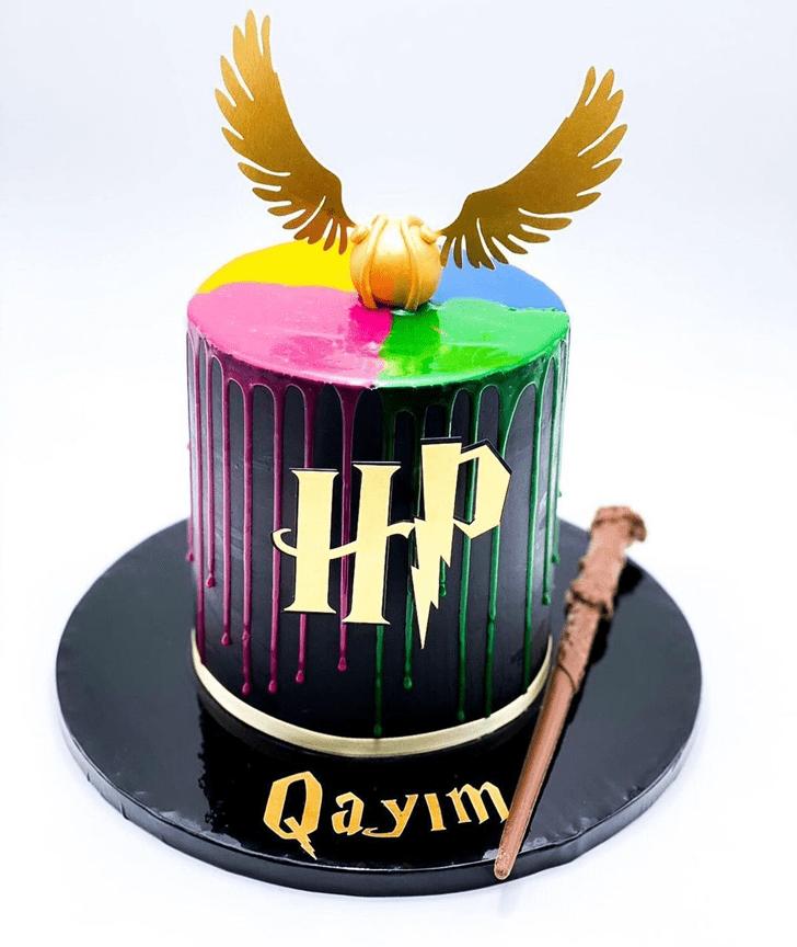 Beauteous Harry Potter Cake