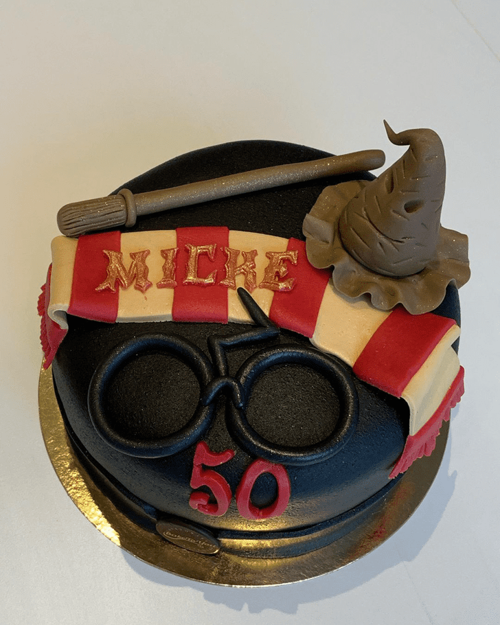 Bewitching Harry Potter Cake