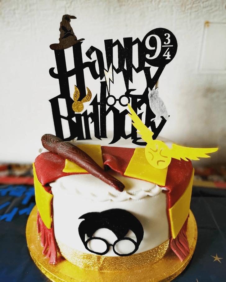 Classy Harry Potter Cake
