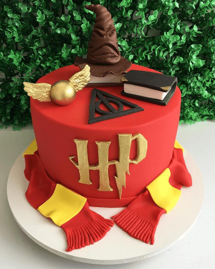 Dazzling Harry Potter Cake