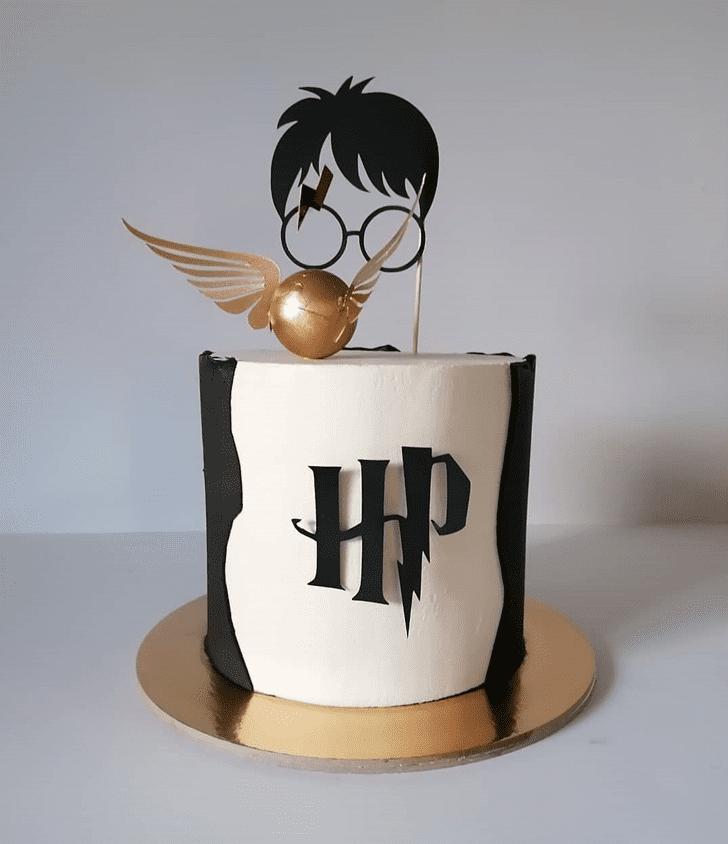 Elegant Harry Potter Cake