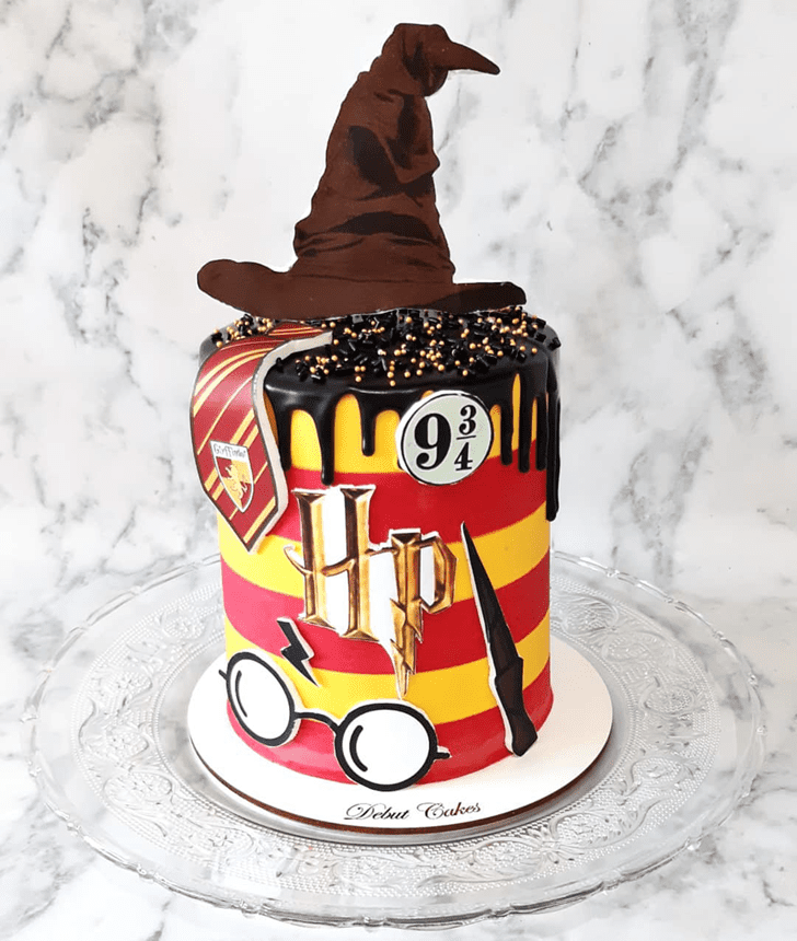 Fetching Harry Potter Cake