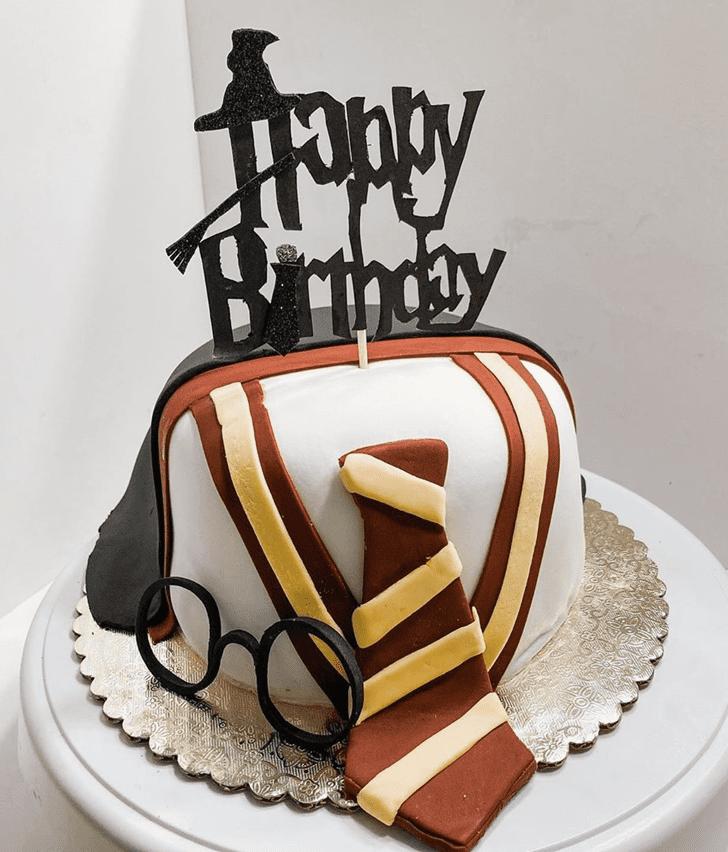 Graceful Harry Potter Cake