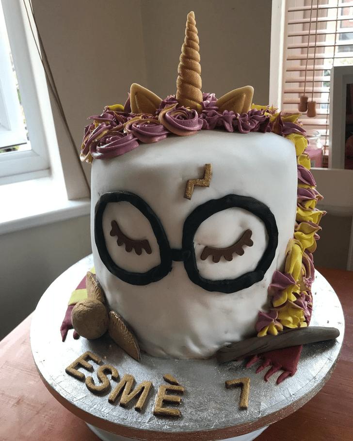 Lovely Harry Potter Cake Design