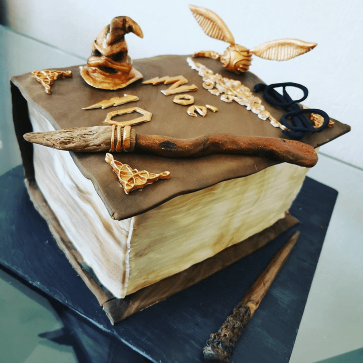 Pretty Harry Potter Cake