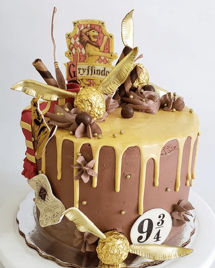 Radiant Harry Potter Cake