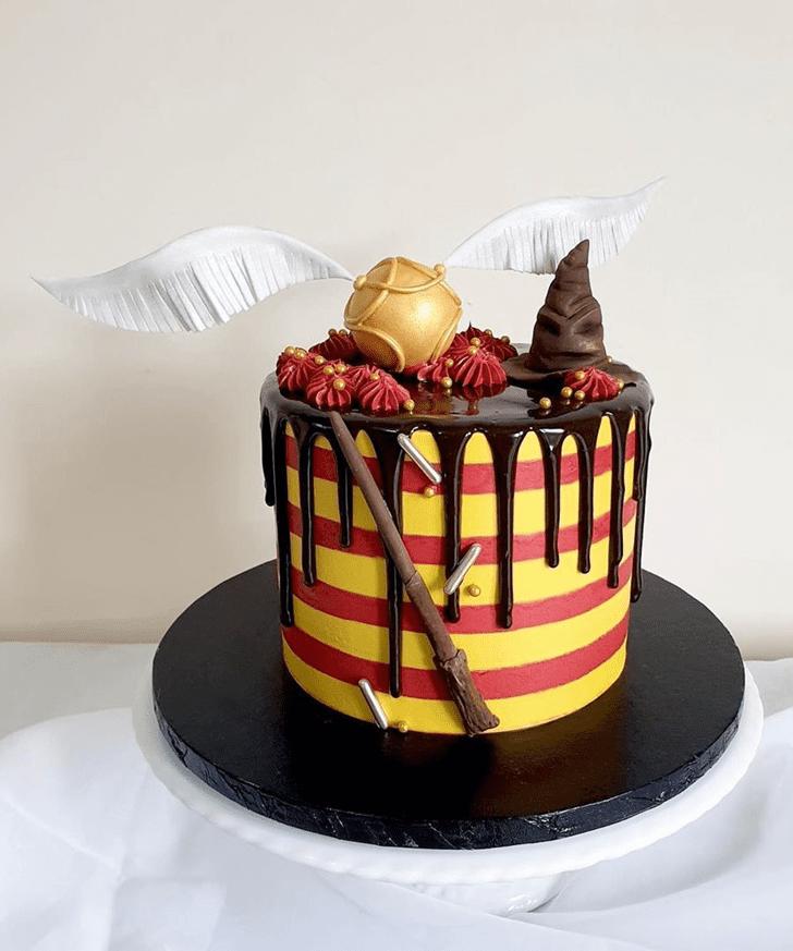 Wonderful Harry Potter Cake Design
