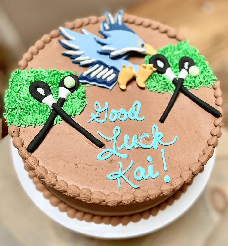Admirable Hawk Cake Design