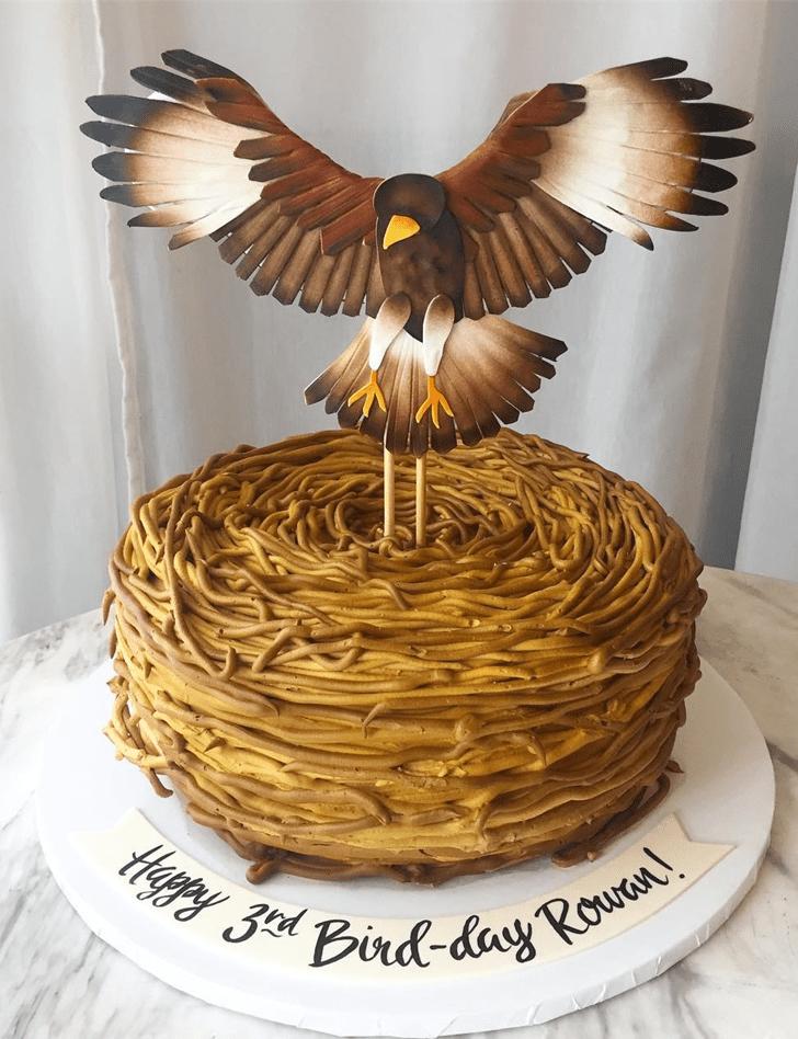 Alluring Hawk Cake