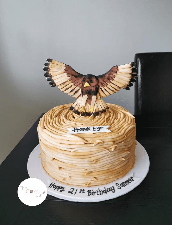 Charming Hawk Cake