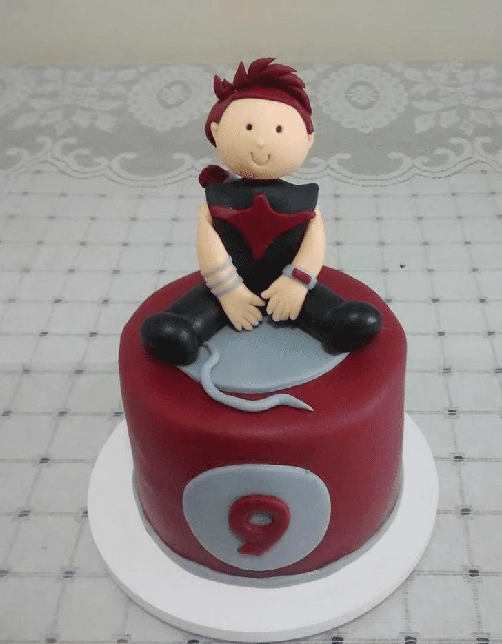 Admirable Hawkeye Cake Design