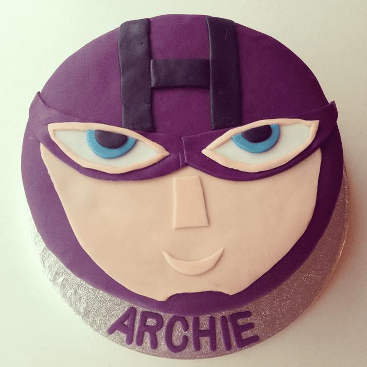 Alluring Hawkeye Cake