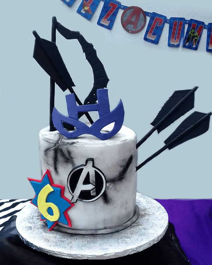 Classy Hawkeye Cake