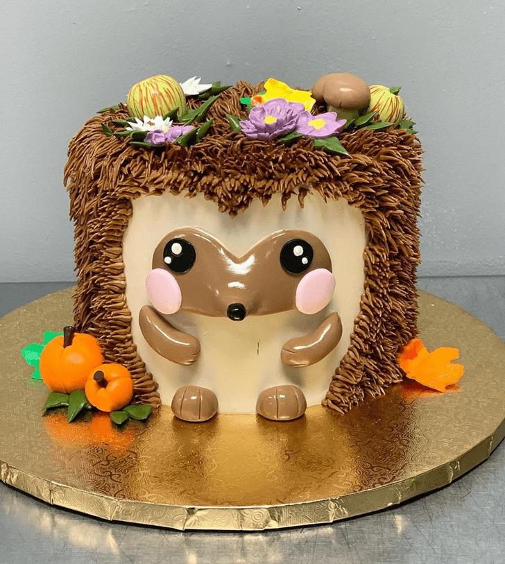 Bewitching Hedgehog Cake