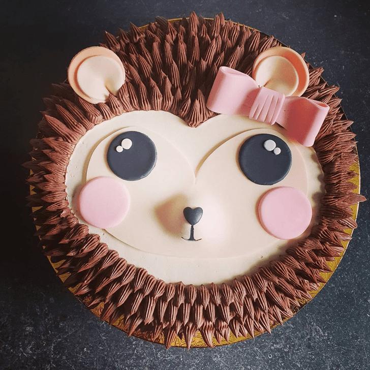 Captivating Hedgehog Cake
