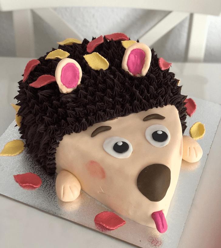 Classy Hedgehog Cake