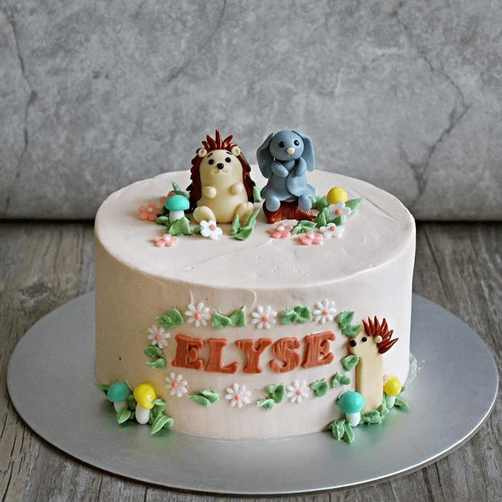 Dazzling Hedgehog Cake