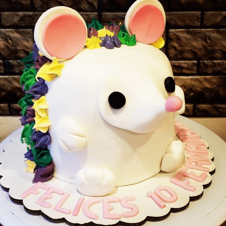 Enthralling Hedgehog Cake