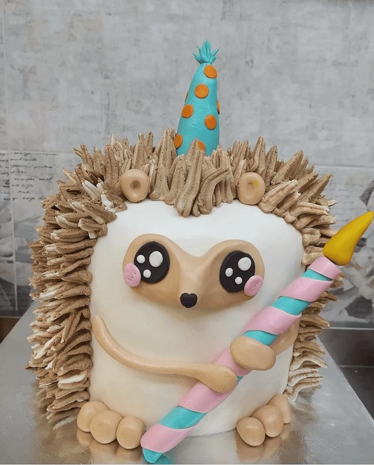 Enticing Hedgehog Cake