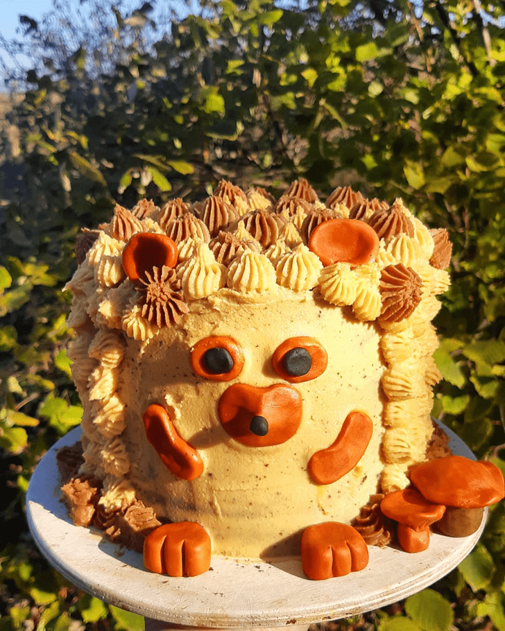 Excellent Hedgehog Cake