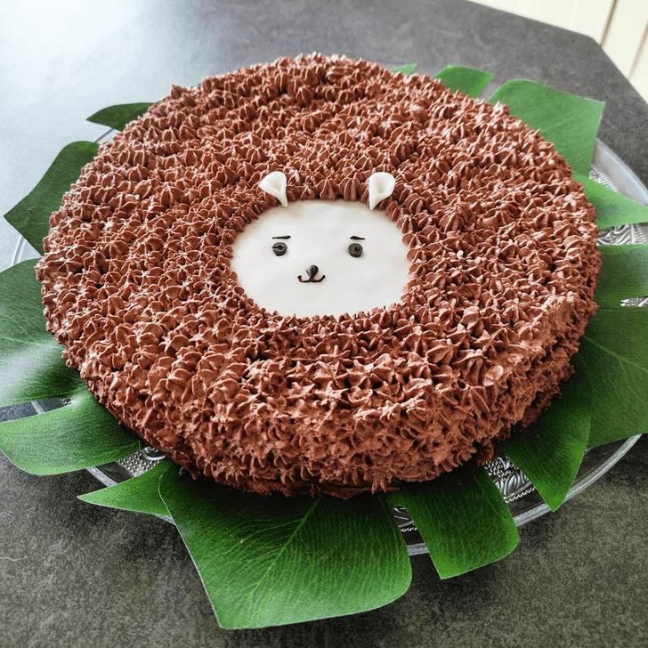 Fair Hedgehog Cake