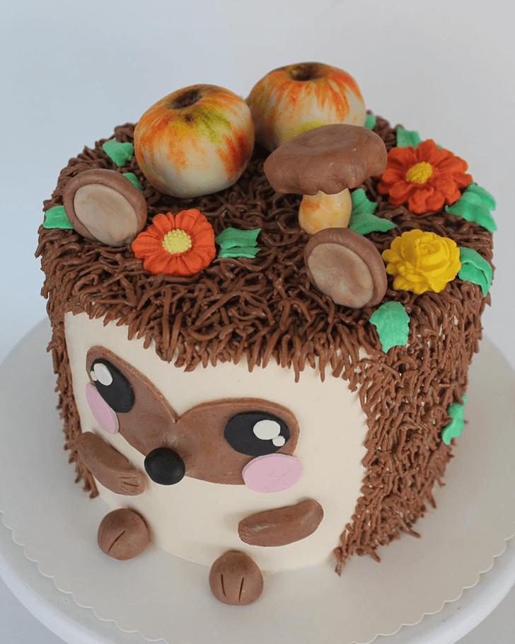 Gorgeous Hedgehog Cake