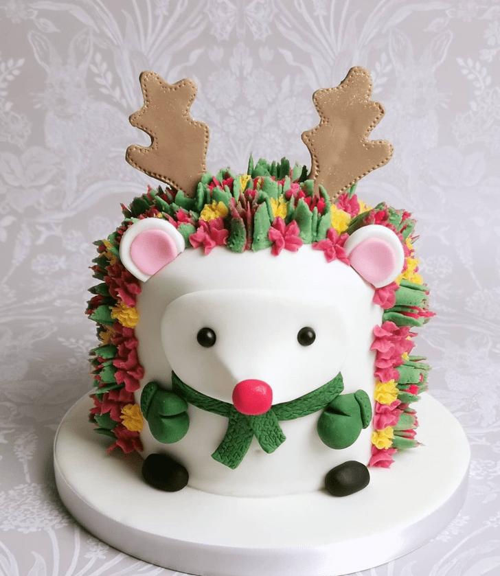 Ideal Hedgehog Cake