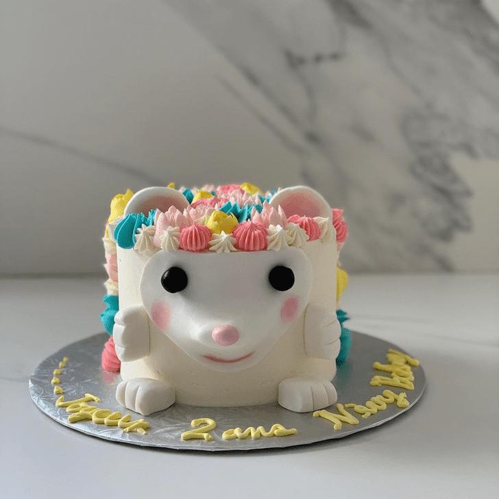 Inviting Hedgehog Cake