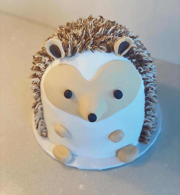 Magnificent Hedgehog Cake