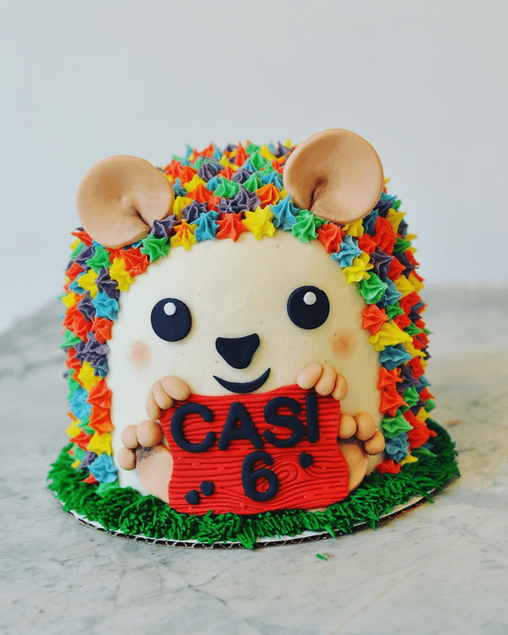 Ravishing Hedgehog Cake
