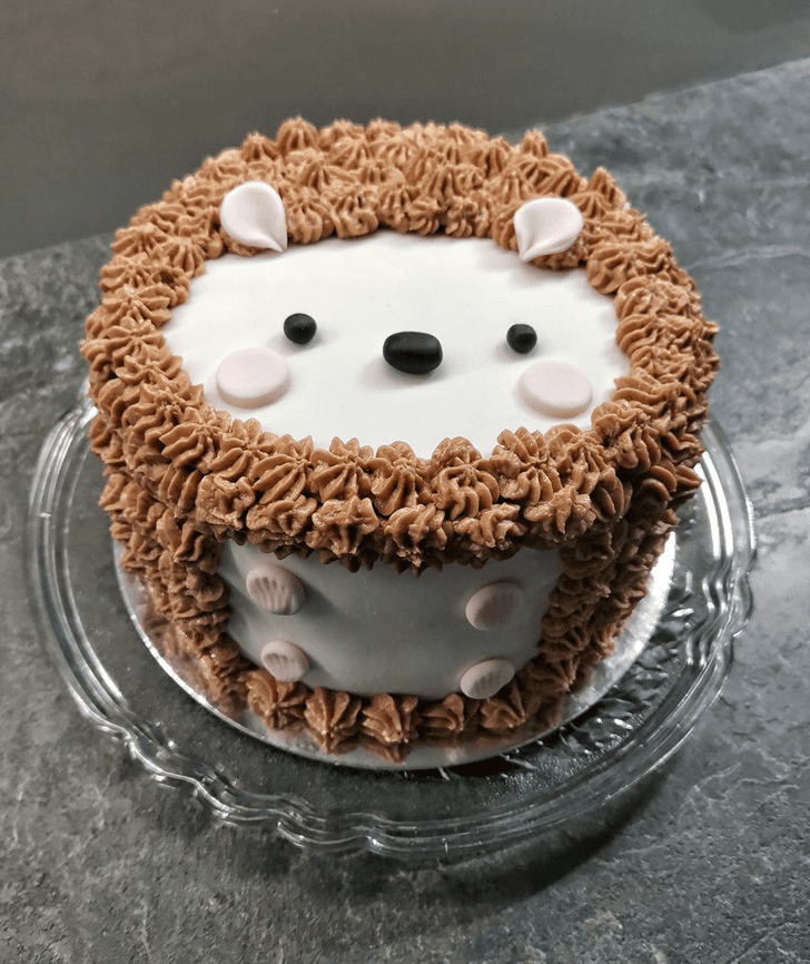 Slightly Hedgehog Cake