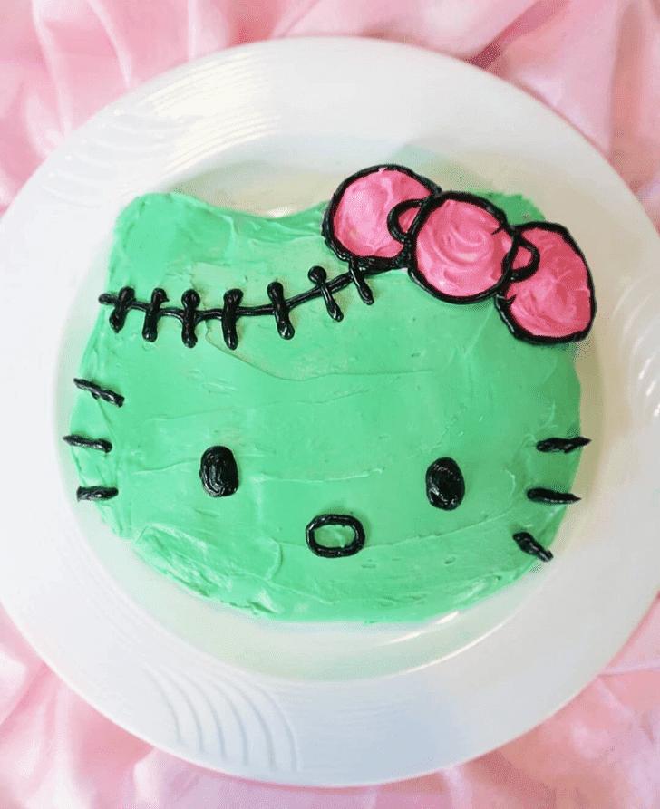 Admirable Hello Kitty Cake Design