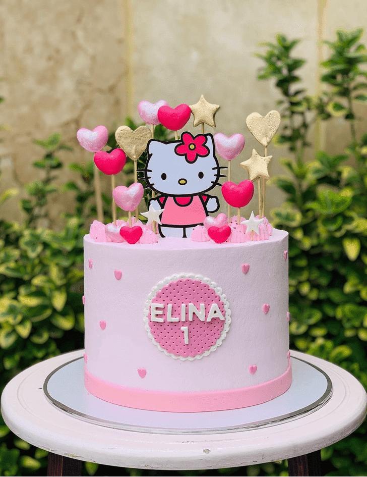 Appealing Hello Kitty Cake