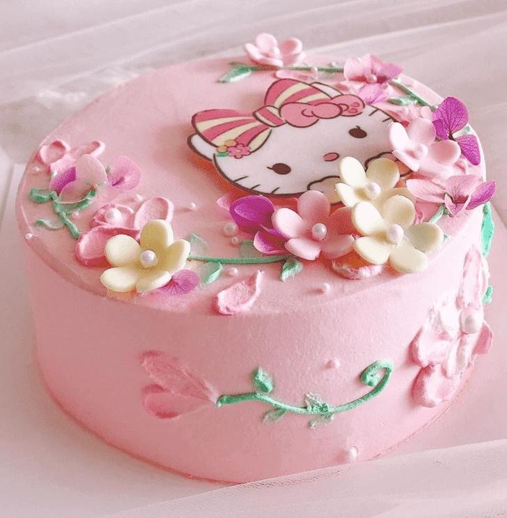 Captivating Hello Kitty Cake