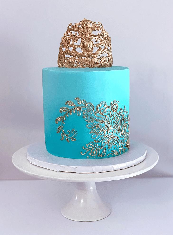 Adorable Henna Cake