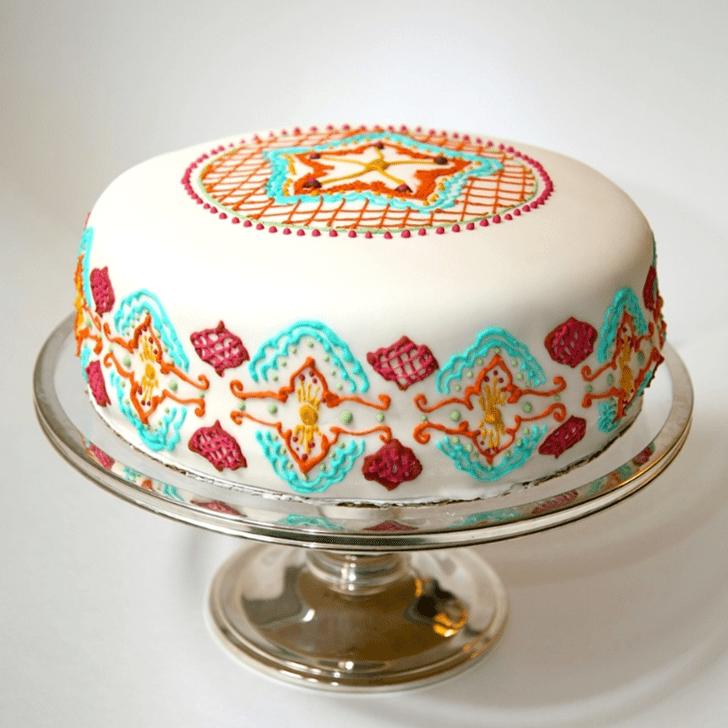 Angelic Henna Cake