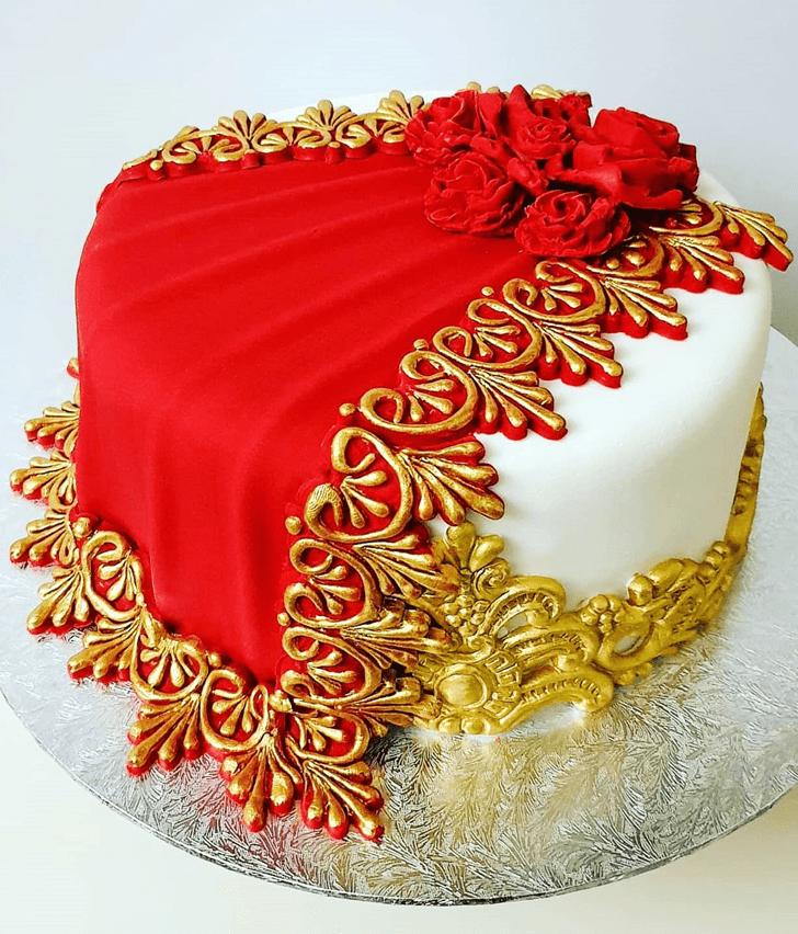 Appealing Henna Cake