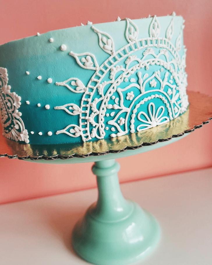 Beauteous Henna Cake