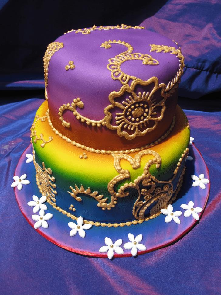 Bewitching Henna Cake