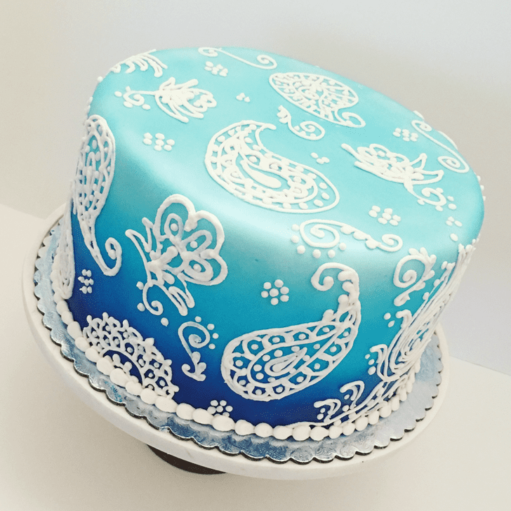 Delicate Henna Cake