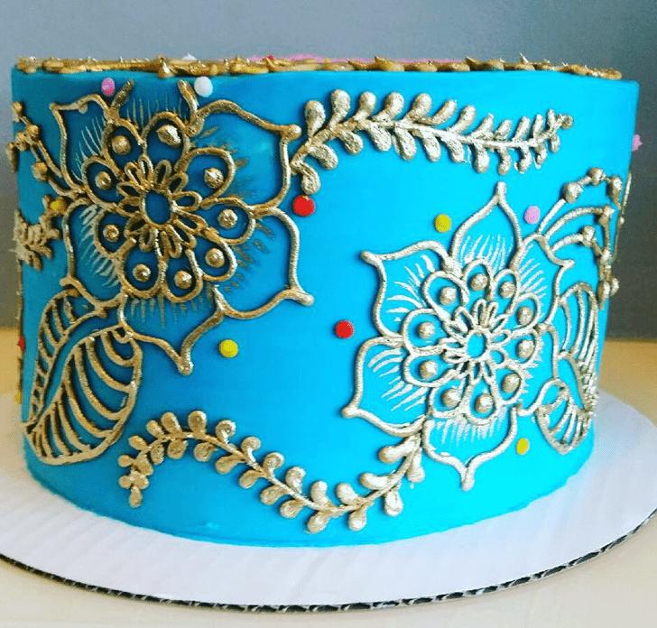 Divine Henna Cake